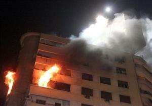 إصابة ربة منزل وعامل في حريق بسوهاج