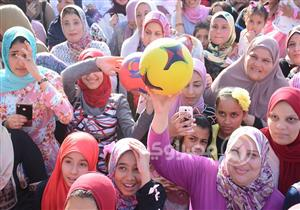 بالصور- فانلة المنتخب ومحمد صلاح تسيطر على احتفالات العيد في البحيرة