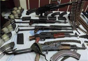 ضبط 95 قطعة سلاح غير مرخصة خلال حملات أمنية بالمحافظات