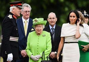 ما اللقب الذي تستخدمه ميجان عند مناداة ملكة بريطانيا؟