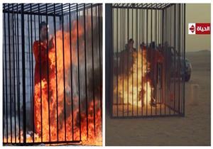 """صور وفيديو..غادة عبد الرازق تثير الجدل بعد أستخدام الطريقة """"الداعشية"""" في الإنتقام من قاتل إبنتها"""