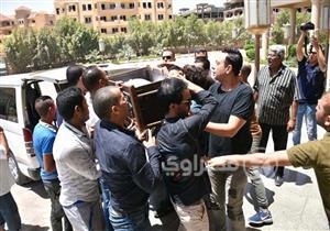 25 صورة ترصد تشييع جُثمان الفنان ماهر عصام من مسجد الشرطة
