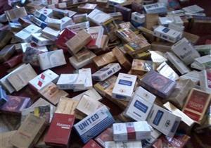 القبض على عاطل بحيازته 3500 علبة سجائر مجهولة المصدر ببني سويف