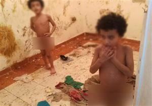 مفاجأة في واقعة العثور على طفلين مُصابين بالتوحد: احتجزهما والدهما داخل شقة (صور)