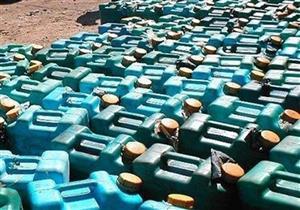 ضبط 48 ألف لتر بنزين وسولار قبل بيعها في السوق السوداء بالمنيا