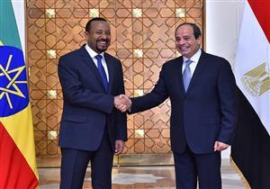 الرئاسة: السيسي ورئيس وزراء إثيوبيا اتفقا على ضمان حقوق البلدين في مياه النيل