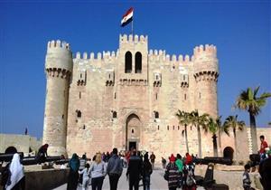 65 ألف جنيه إيرادات قلعة قايتباي في ثالث أيام العيد