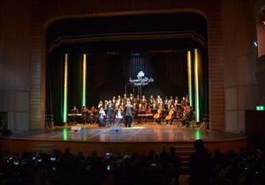 نجوم الأوبرا في حفل التراث على مسرح الجمهورية