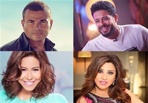أبرزهم عمرو دياب وشيرين وأصالة .. نجوم الطرب يلتقون جمهورهم بعدة حفلات في يونيو