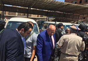 بالصور- مدير أمن القليوبية يشن حملة على المواقف ومستودعات البوتاجاز ببنها