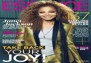 """جانيت جاكسون تكشف عن صراعها مع الاكتئاب على غلاف """"Essence"""""""