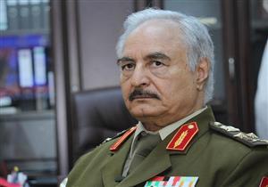 حفتر : مكانة مصر لدى الليبيين لا ينافسها أحد