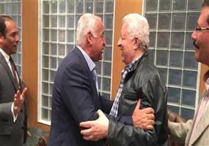 جلسة صلح بين مرتضى منصور وفرج عامر تحت قبة البرلمان