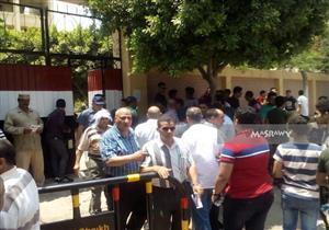 إصابة 3 طلاب بإغماء وتشنج في امتحانات الثانوية بكفر الشيخ