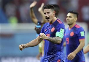 رودريجيز يفوز بجائزة رجل مباراة كولومبيا وبولندا
