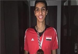 """""""سيف عيسى"""" يحصد ميدالية فضية لمصر في التايكوندو بألعاب البحر المتوسط"""