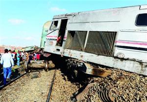 إحالة سائق قطار وعامل مناورة للمحاكمة على خلفية حادث تصادم قطارين بالإسماعيلية