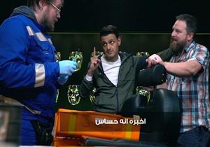 إصابة رامز جلال تغير مجريات حلقة سامح حسين -فيديو