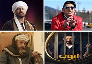 """قبل ساعات من انتهائه.. """"أيوب"""" ويوسف وعبدالجليل ورامز وصبا يتصدرون استفتاء """"مصراوي"""""""