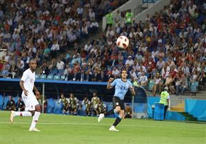 كافاني يفوز بجائزة رجل مباراة أوروجواي والبرتغال