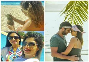 ليالي الصيفية | رومانسية مراد يلدم وزوجته في المالديف وسعد الصغير يعلم نجله السباحة