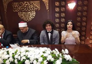 عدسة مصراوي ترصد نجوم الأهلي في حفل زفاف حسين السيد