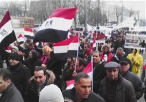 الجالية المصرية في النمسا تشارك الشعب فرحته بثورة 30 يونيو