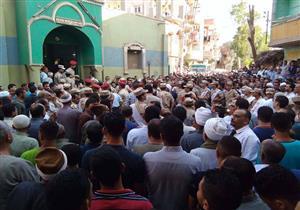 """بالصور.. جنازة عسكرية للشهيد """"أحمد جودة"""" بمسقط رأسه في الشرقية"""