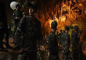 قصة إنقاذ أطفال الكهف في تايلاند (صور)