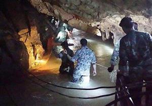 بدء عملية إنقاذ المجموعة الأخيرة من العالقين داخل كهف تايلاند