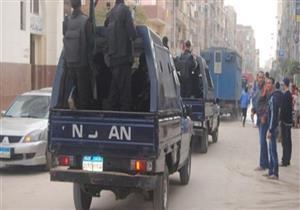 ضبط 34 تاجر مخدرات في حملة أمنية بالجيزة