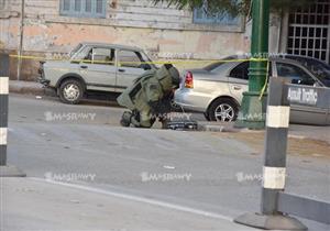 الاشتباه في جسم غريب أمام مركز شرطة ببا ببني سويف