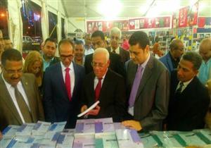 بالصور- افتتاح معرض بورسعيد الثاني للكتاب