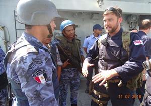 تدريب بحري على مواجهة الإرهاب بين مصر وبريطانيا