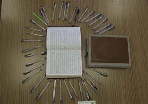 تلقى مكافأة ربانية.. شاب يكتب المصحف بخط يده في 7 أشهر (بالصور- حوار خاص)