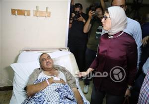 """وزيرة الصحة تزور بورسعيد لمتابعة تنفيذ قانون """"التأمين الشامل"""".. اليوم"""