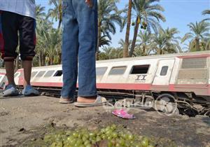 15 صورة ترصد حادث قطار البدرشين