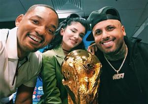 بالفيديو والصور.. ويل سميث ينشر كواليس الاحتفال بنهائي كأس العالم