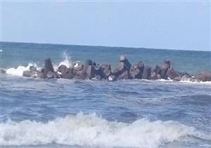 """غرق 6 في """"شاطئ الموت"""" بالإسكندرية.. والإنقاذ النهري تبحث عن الجثث"""