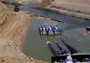 """""""الري"""": 60% نسبة الإنجاز في مشروع سحارة سرابيوم أسفل قناة السويس"""