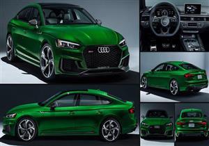 أودي RS 5 Sportback الجديدة.. قوة وأناقة