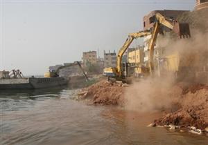 إزالة 281 حالة تعد على أملاك الدولة والأراضي الزراعية ونهر النيل
