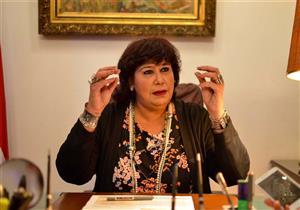 """وزيرة الثقافة: """"القومي للمسرح"""" حصاد عام كامل من الإبداع المصري"""
