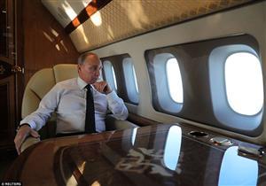 """بالصور- أسرار الطائرة الخاصة لـ""""بوتين"""".. سعرها 500 مليون دولار و""""حمامها من الذهب"""""""