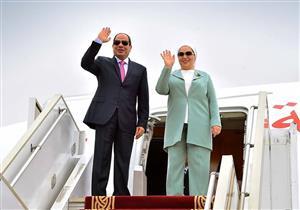 مُتحدث الرئاسة ينشر صورًا لمغادرة السيسي للسودان