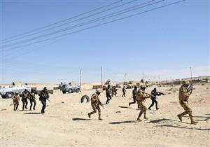 سيناريو تدريب مشترك بين القوات المسحلة والشرطة لاقتحام أوكار الإرهابيين