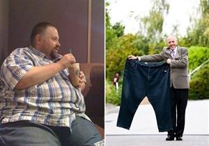 بريطاني يفقد 140 كيلوجرام من وزنه خلال عامين بهذه الطريقة