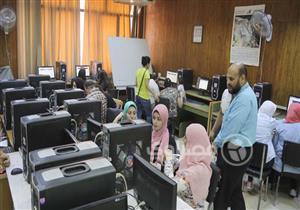 توافد طلاب المرحلة الثانية على معامل الجامعات لتسجيل رغباتهم بالتنسيق
