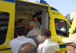 مصدر أمني: إصابة أحد أعضاء نقابة التجاريين في حريق كافيتريا النقابة التجاريين