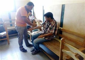 بالصور- انطلاق حملة للتبرع بالدم في منيا القمح بالشرقية